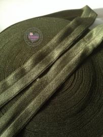 Elastisch biasband/haarband effen 2 cm