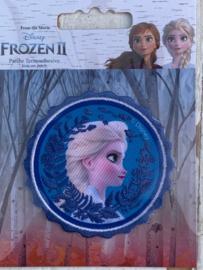 Frozen opstrijk applicatie ELSA rond
