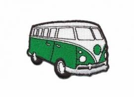 Opstrijk applicatie VW bus groen