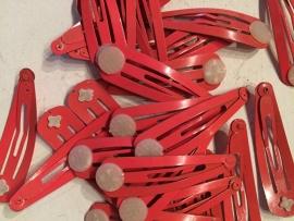 Knipjes coral met plakschijfje  (Per st)