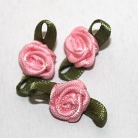 Mini roosje licht roze  pst