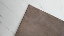 Leer glimmend glitter/streep motief brons