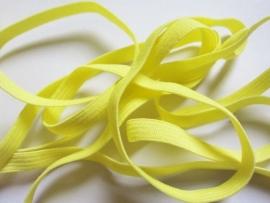 Skinny haarband elastiek geel