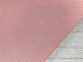 Leer structuur glans licht roze
