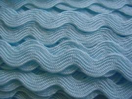 Zigzagband licht blauw 5mm