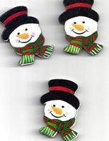 Flatback sneeuwpop