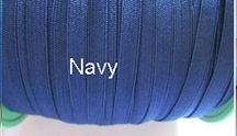 Skinny haarband elastiek Navy