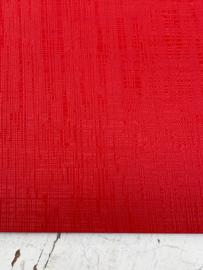 Leer structuur lijntjes rood