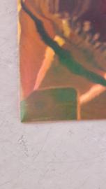 Leer doorzichtig goud 21x30 cm