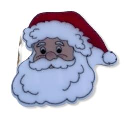 Flatback kerstman hoofd B