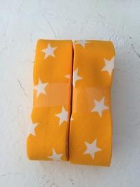 Biasband geel met witte sterren (2012)