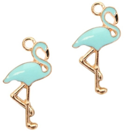 bedels flamingo  gold-light blue