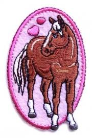 A0201 Paardje met hartjes