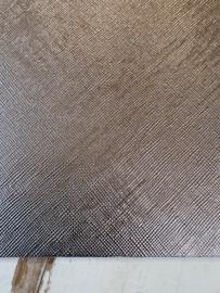 Leer metallic grijs