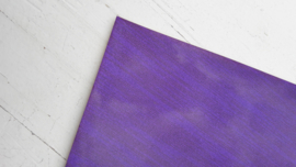 Leer glimmend glitter /streep motief paars