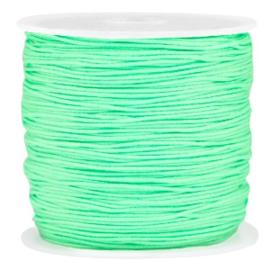 Macramé draad spring green 0.8mm