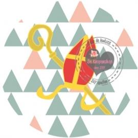 Flatback  mijter driehoek