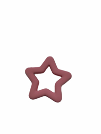 Flatback kraal ster zalmroze