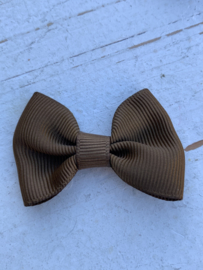 Vlinderstrik Camel/Koper 5cm