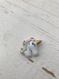 Unicorn Flatback regenboog rechts