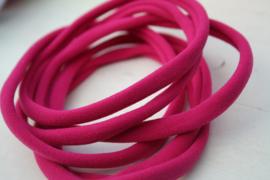 Haarbandje nylon fuchsia