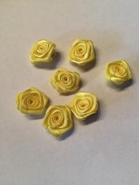Roosjes geel 1,5cm