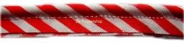 Paspelband Rood streep