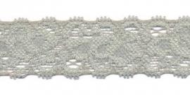 Elastisch kant grijs  22 mm