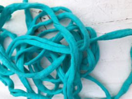 Tricot band turquoise  hoooked zpagetti