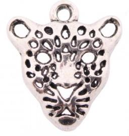 Bedel tijger/panter zilver