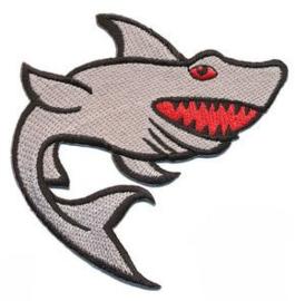 Opstrijkbare applicatie haai