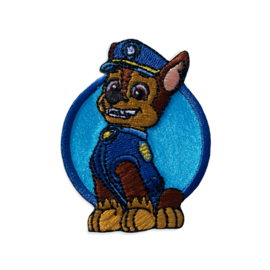 Paw patrol CHASE opstrijkbaar