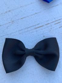 Vlinderstrik zwart 6cm