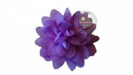 Chiffon bloem lila 6,5cm