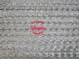 Zigzagband ovaal zilver 5mm