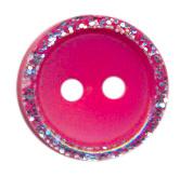 Knoop glitter rand fuchsia