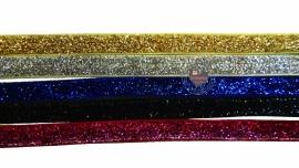 Glittersierband diverse kleuren