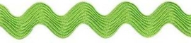 Zigzagband Lime groen 7mm