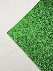 Glitter Leer Groen 20x30 cm