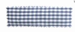 Kniphoesje rechthoekig ruit grijs