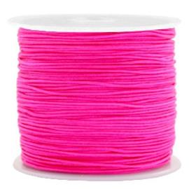 Macramé draad super pink 0.8mm
