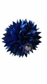 Bloem stof royal blue 9.5cm