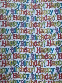 leer tekst Happy Birtday