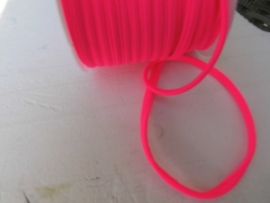 Elastisch ibiza band neon roze