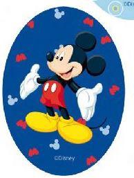 Mickey Mouse applicaties opstrijkbaar