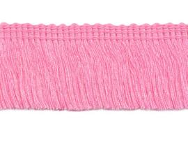 Franjeband roze 30 mm