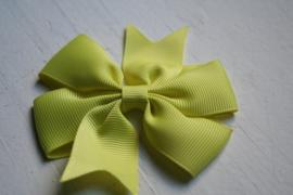 Strik dubbel geel