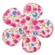 Bloemen bloem fuchsia/roze 4,7cm