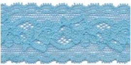 Elastisch kant blauw 30 mm