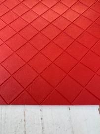 Leer structuur blokken rood